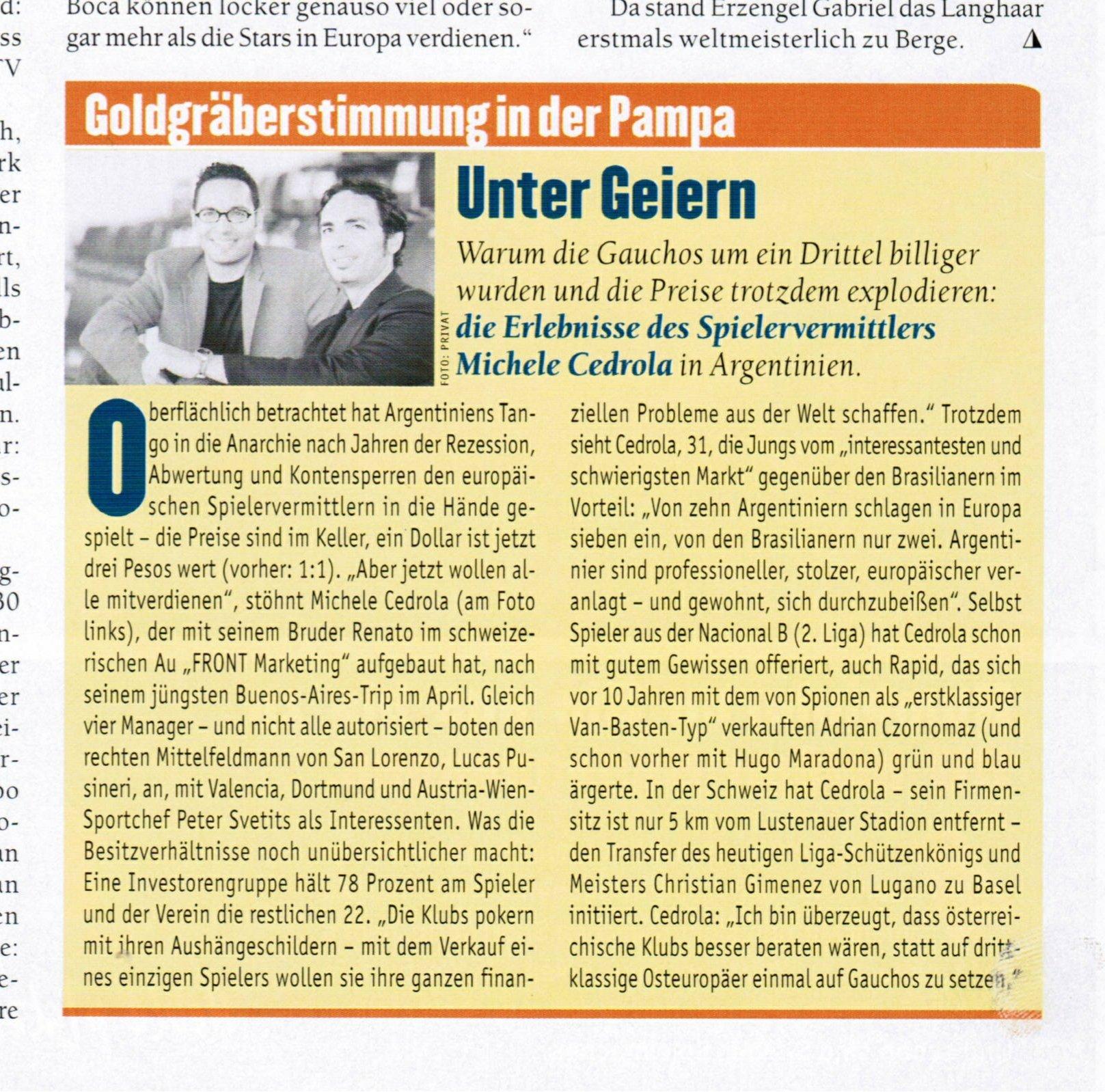 Sport Magazin 2002