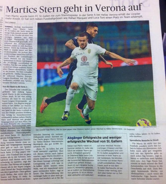 Tagblatt - 18.12.2014