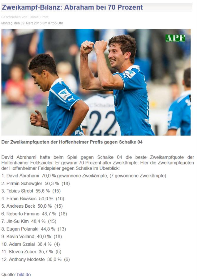 Rhein-Neckar-Zeitung - 09.03.2015
