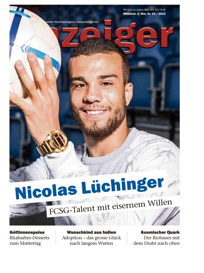 Anzeiger - Nicolas Lüchinger - Talent mit eisernem Willen_001