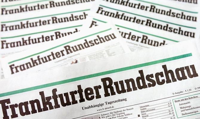 "Symbolbild ""Frankfurter Rundschau"""